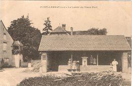 CPA Port Lesnay Lesney Le Lavoir Du Vieux Port 39 Jura - France