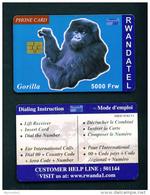 RWANDA - Chip Phonecard - Rwanda