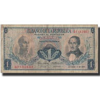 Billet, Colombie, 1 Peso Oro, 1964, 1964-10-12, KM:404b, TB+ - Colombia