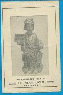 Holycard    St. Job    Wezemaal   Litanie - Images Religieuses