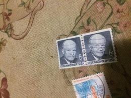 USA STATI UNITI BLOCCO 2 VALORI - Stamps