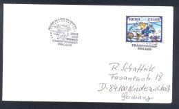 Finland 2003 Cover - Ice Hockey Sur Glace EIshockey; World Championship WC WM Weltmeisterschaft HELSINKI - Eishockey