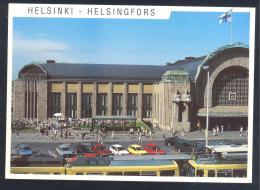 Finland 2003 Card - Ice Hockey Sur Glace EIshockey; World Championship WC WM Weltmeisterschaft HELSINKI Railway Station - Jockey (sobre Hielo)
