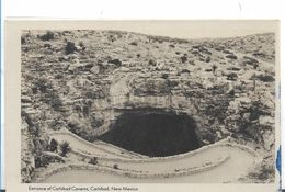 Etats-Unis > NM - New Mexico ENTRANCE OF THE CARLSBAD CAVERN - Etats-Unis