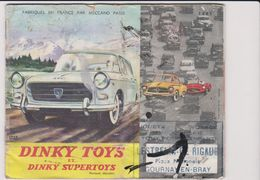 Catlogue Dinky Toys 1961 24 Pages - Modelismo
