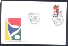 Finland 1997 Cover - Ice Hockey Sur Glace EIshockey; World Championship WC WM Weltmeisterschaft HELSINKI - Hockey (sur Glace)