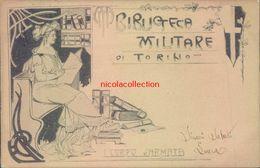 H141 - Biblioteca Militare Di Torino - Italia