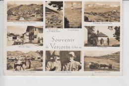 Vercorin  (Valais)   -  Téléférique - Vache - Mulet       Animée      MULTIVUES      En 1960 - VS Valais