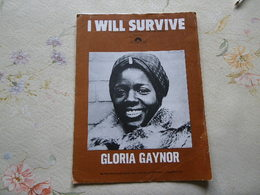 GLORIA GAYNOR PARTITION,  REGARDEZ MES AUTRES PARTITIONS... - Autres