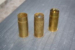 WW1 FR 3 Douilles De 37 Mm - 1914-18