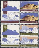 Malta 1983 - Europa Cept - Set With Vignettes MNH** - Europa-CEPT