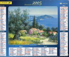 ALMANACH  DU FACTEUR  2005  EDITION   LAVIGNE  NQATURE TOURISME - Calendars