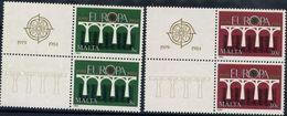 Malta 1984 - Europa Cept - Set With Vignettes MNH** - Europa-CEPT