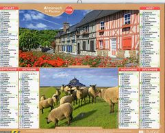 ALMANACH  DU FACTEUR  2015  EDITION   LAVIGNE  NQATURE TOURISME - Calendars