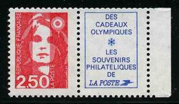 FRANCE - YT 2715a ** - BRIAT - TIMBRE NEUF ** DE CARNET AVEC VIGNETTE - Francia
