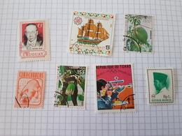 Lot Timbres étrangers - Stamps