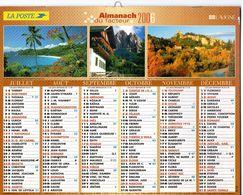 ALMANACH  DU FACTEUR  2006  EDITION   LAVIGNE  NATURE  TOURISME CHAT CHIEN ENFANT - Calendars