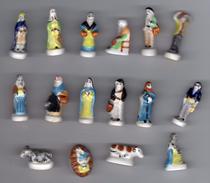 Série Complète 16 Fèves Brillantes CRECHE 1999 ARGUYDAL Grand Modèle - Santons