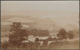 Village With Windmills, Railway Tunnel And Churchyard, C.1910 - RP Postcard - To Identify