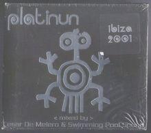2CD 32 TITRES CESAR DE MELERO & SWIMMING POOL SOUND PLATINUM IBIZA 2001 NEUF & RARE - Dance, Techno & House