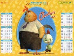 ALMANACH  DU FACTEUR  2006  EDITION   LAVIGNE  BD - Calendars