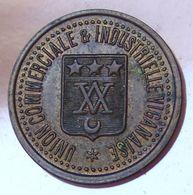 25 Centimes VIGAN (30) Union Commerciale Et Industrielle Viganaise - Monetary / Of Necessity