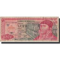 Billet, Mexique, 20 Pesos, 1976, 1976-07-08, KM:64c, TB - Mexique