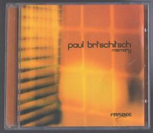 CD 9 TITRES PAUL BRTSCHITSCH MEMORY TRES BON ETAT & RARE - Dance, Techno & House