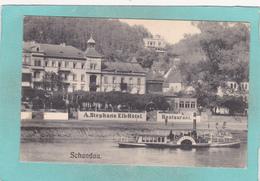 Old Small Postcard Of Schandau On Elbe,Sachsen,Saxony, Germany,R47. - Germany