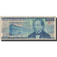 Billet, Mexique, 50 Pesos, 1981, 1981-01-27, KM:73, TTB - Mexique