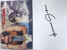 Natation - Roland MATTHES - Dédicace - Hand Signed - Autographe Authentique - Natation