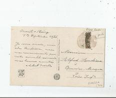 ALBERT MOULLE PEINTRE CARTE DU SALON DE 1926 DE LA SOCIETE NATIONALE DES BEAUX ARTS AVEC AUTOGRAPHE - Autographes