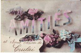 CPA  - Amitiès De CRULAI - France