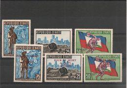 HAÏTI Année 1959 N° Y/T : 420/25** - Haïti