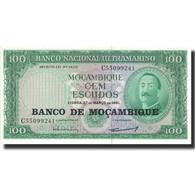 Billet, Mozambique, 100 Escudos, 1961, 1961-03-27, KM:109a, SUP+ - Mozambique