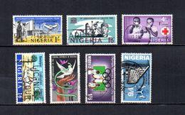 Nigeria   1965-69  .-  Y&T  Nº   192-201-203-214-220-222-224 - Nigeria (1961-...)