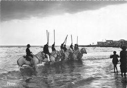 13-SAINTE-MARIE-DE-LA-MER- EN CAMARGUE UN GROUPE DE GARDIANS - Saintes Maries De La Mer