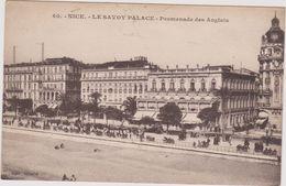 06  Nice Le Savoy-palace Promenade Des Anglais - Cafés, Hotels, Restaurants