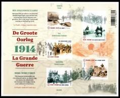 2014 - XX - BL 220 - De Groote Oorlog / La Grande Guerre - Belgique