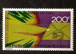 Centrafrique 1973 N° PA 119 ** UPU, Union Postale Universelle, Oiseau, Courrier, Lettre, Philatélie, Indien, Racisme - Repubblica Centroafricana