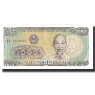 Billet, Viet Nam, 1000 D<ox>ng, 1988, 1988, KM:106a, SUP+ - Vietnam