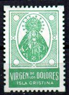 Viñeta Virgen De Los Dolores Isla Cristina. - España