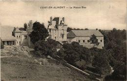 CPA Cuisy En Almont. La Maison Bleu. (666350) - France