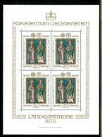 LIECHTENSTEIN - BF - 1979 - LANDESPATRONE - Nuovo MNH - Blocs & Feuillets