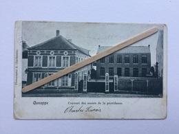 GENAPPE «COUVENT DES SŒURS DE LA PROVIDENCE «panorama (1904)Édit A.Charbonnier. - Genappe