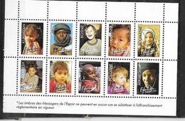 """France Bloc Privé """"Enfance """" Les Messagers De L'Espoir   Neuf  * * TB  MNH  VF  TB Soldé ....... - Autres"""