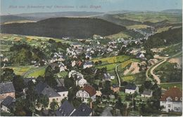 AK Oberschlema Schlema Erzgebirge Fabrik ? A Aue Lößnitz Hartenstein Griesbach Zschorlau Bockau Albernau Schneeberg - Schlema