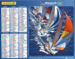 ALMANACH  DU FACTEUR  2006  EDITION   LAVIGNE BATEAUX - Calendars