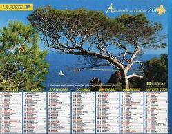ALMANACH  DU FACTEUR  20067 EDITION   LAVIGNE BATEAUX NATURE TOURISME - Calendars