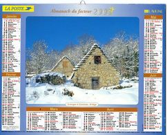 ALMANACH  DU FACTEUR  2003  EDITION   LAVIGNE NATURE - Calendars